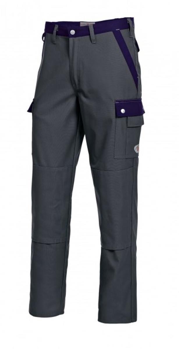 BP Arbeits-Berufs-Bund-Hose, dunkelgrau-dunkelblau