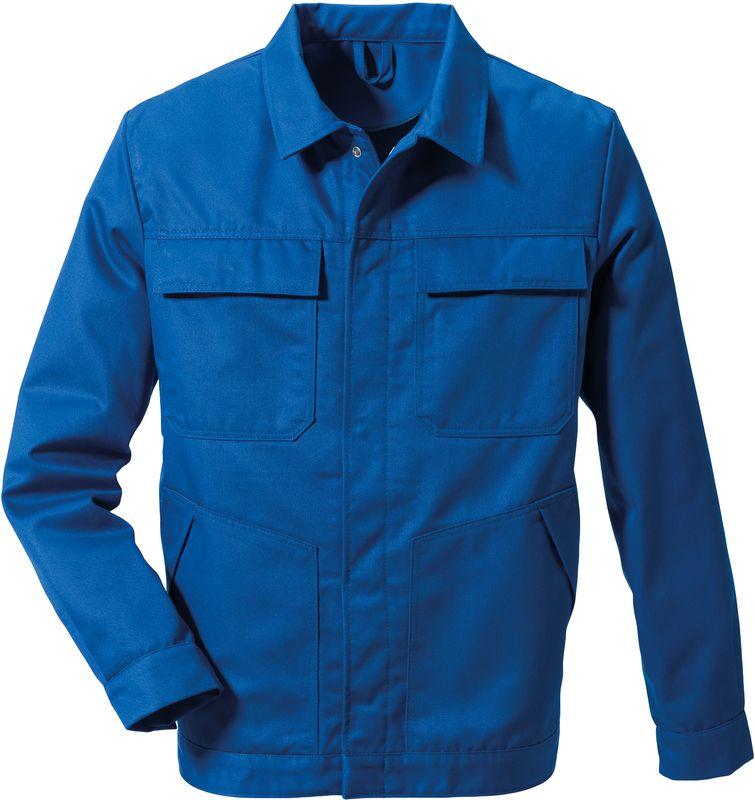 ROFA-Schweißer-Arbeits-Schutz-Berufs-Jacke, 827 - zweilagig, kornblau