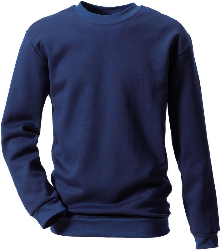 ROFA-Schweißer-Arbeits-Berufs-Hemd, Sweat-Shirt, Flamm- und Hitzeschutz, ca. 340 g/m², marine