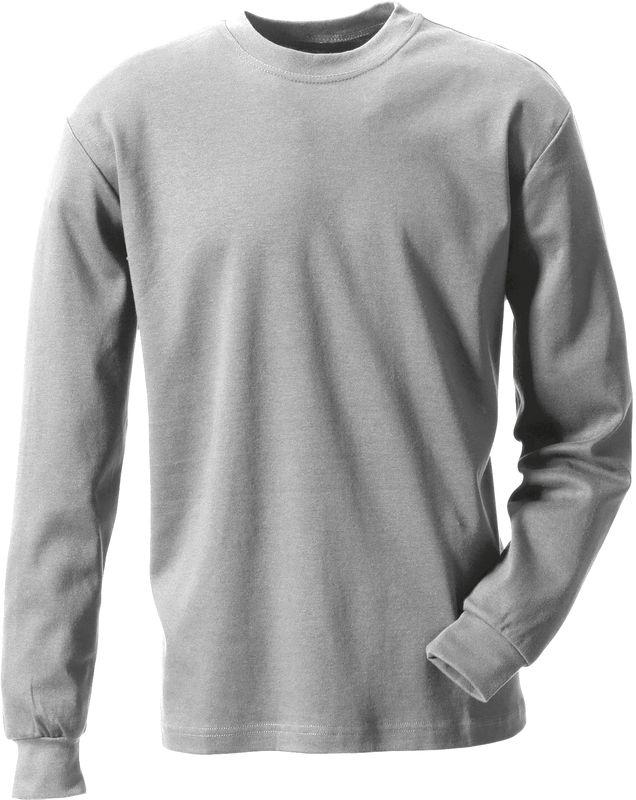 ROFA-Schweißer-Arbeits-Berufs-Hemd, T-Shirt, Flamm- und Hitzeschutz, ca. 210 g/m², grau