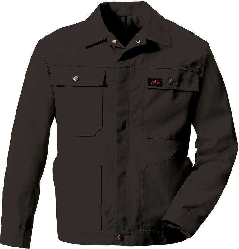 ROFA-Bundjacke, Arbeits-Blouson-Berufs-Jacke, Super 291, verlängerte Form, schwarz