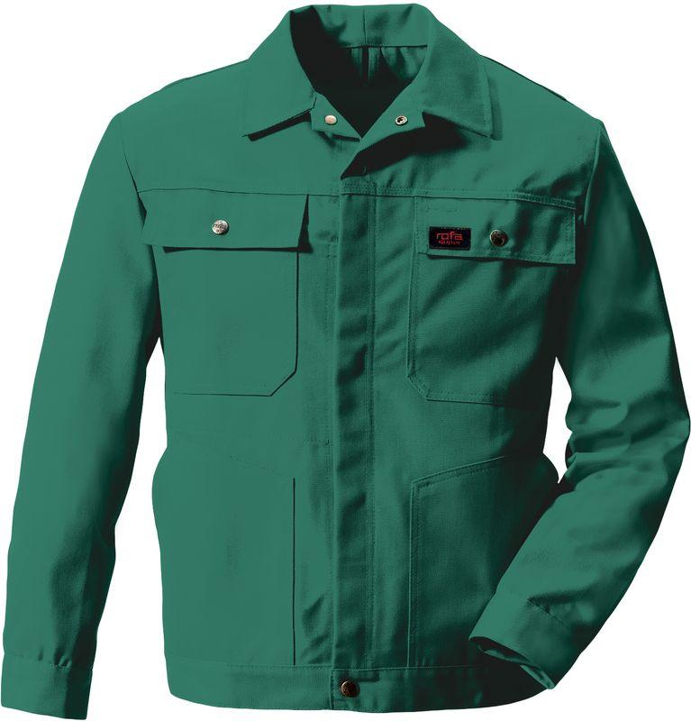 ROFA-Bundjacke, Arbeits-Blouson-Berufs-Jacke, Super 291, verlängerte Form, gärtnergrün