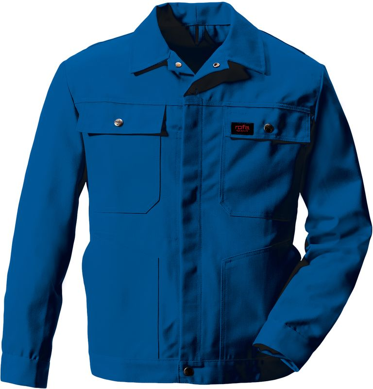 ROFA-Bundjacke, Arbeits-Blouson-Berufs-Jacke, Super 291, verlängerte Form, dunkel-kornblau