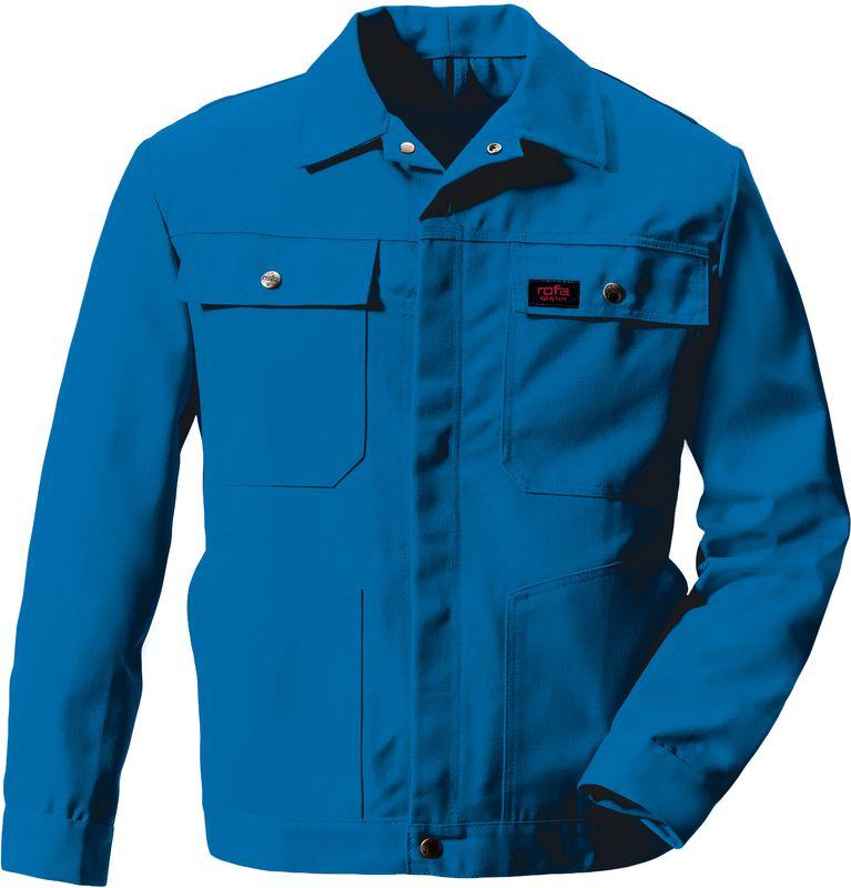 ROFA-Bundjacke, Arbeits-Blouson-Berufs-Jacke Super 291, verlängerte Form, kornblau