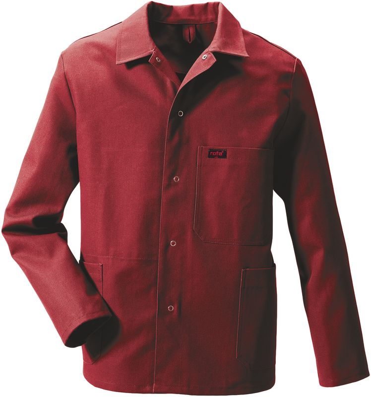 ROFA-Arbeits-Berufs-Bund-Jacke, OK Standard 391, weinrot
