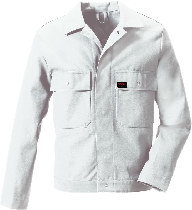 ROFA-Bundjacke, Arbeits-Blouson-Berufs-Jacke, OK Standard 392, weiß