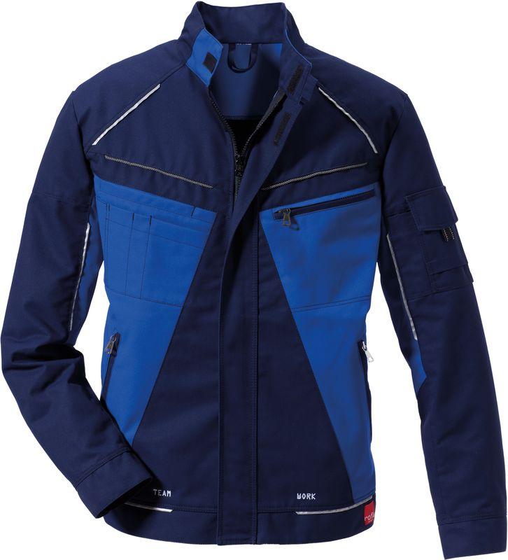 ROFA-Arbeits-Berufs-Bund-Jacke, Teamwork, ca. 295 g/m², marine-kornblau