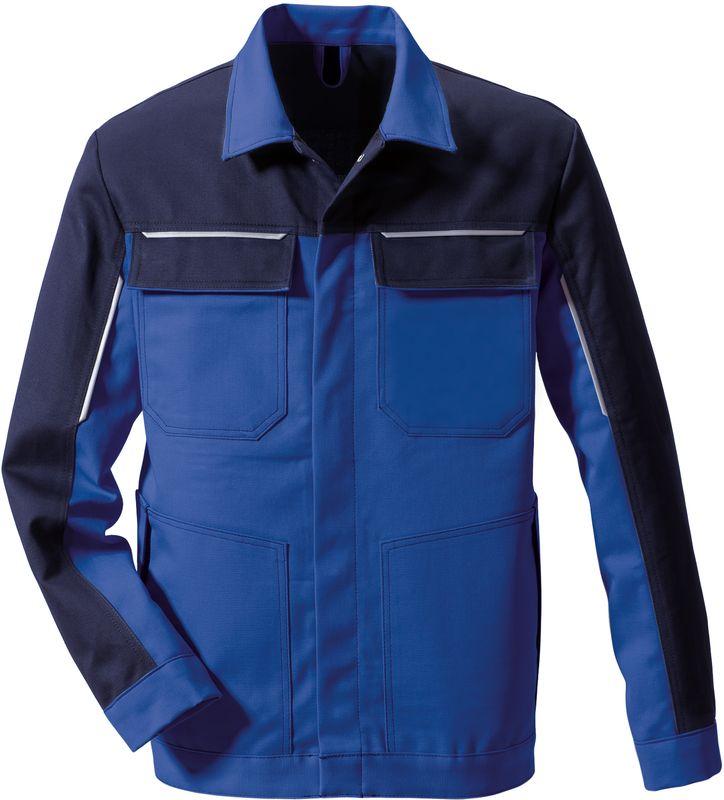 ROFA-Schweißer-Jacke, Arbeits-Schutz-Berufs-Blouson, Trend Image 1524, kornblau-marine