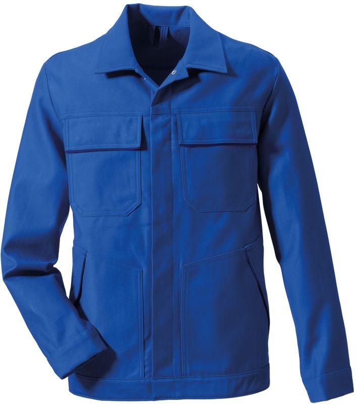ROFA-Schweißer-Arbeits-Schutz-Berufs-Jacke, Proban Multinormen, ca. 400 g/m², kornblau