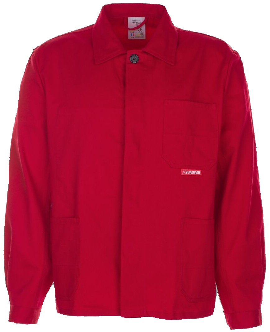 PLANAM Arbeits-Berufs-Bund-Jacke, BW 290, mittelrot