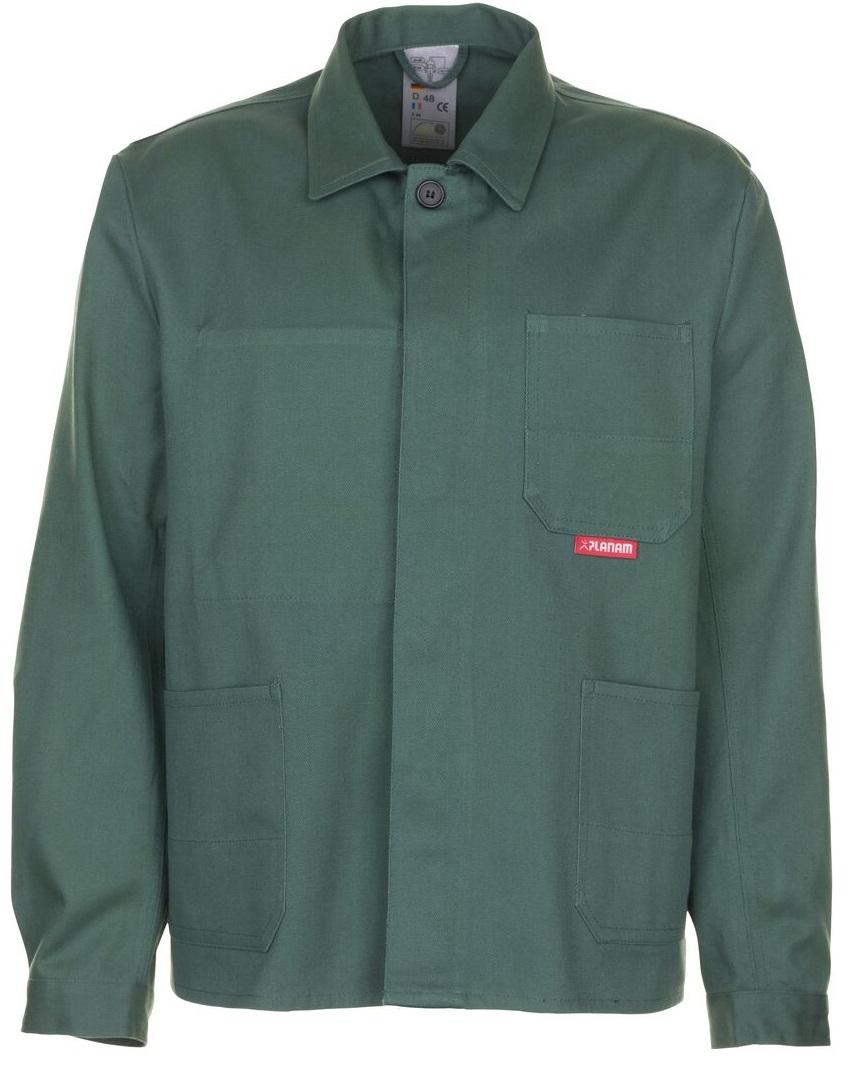 PLANAM Arbeits-Berufs-Bund-Jacke, BW 290, mittelgrün