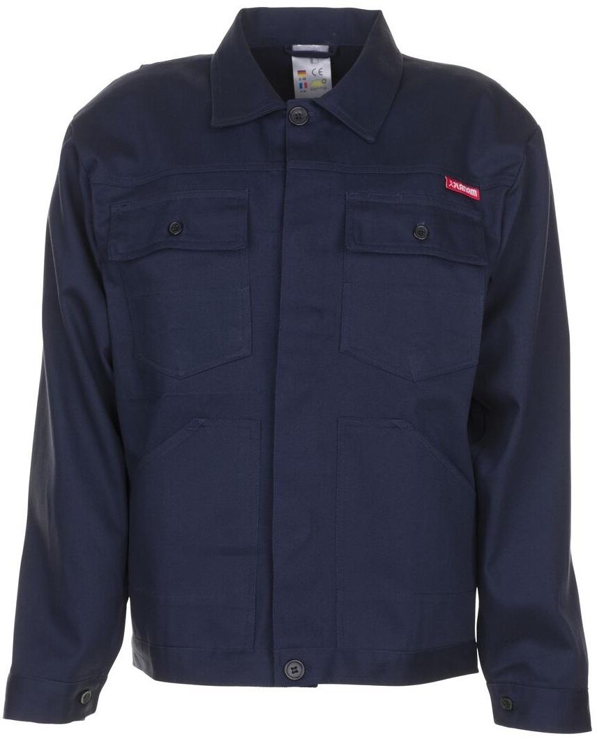 PLANAM Bundjacke, Arbeits-Berufs-Jacke, BW 290, hydronblau