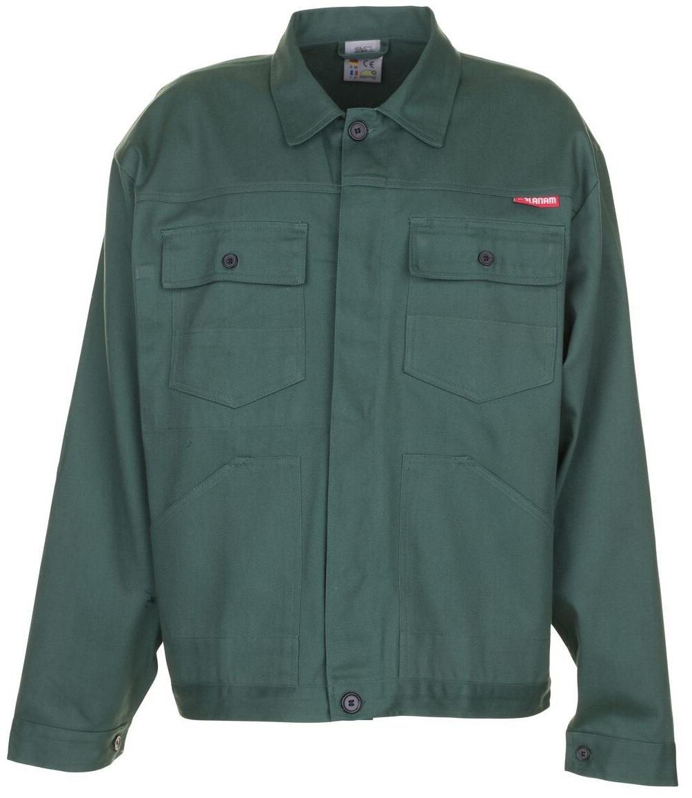PLANAM Bundjacke, Arbeits-Berufs-Jacke, BW 290, mittelgrün
