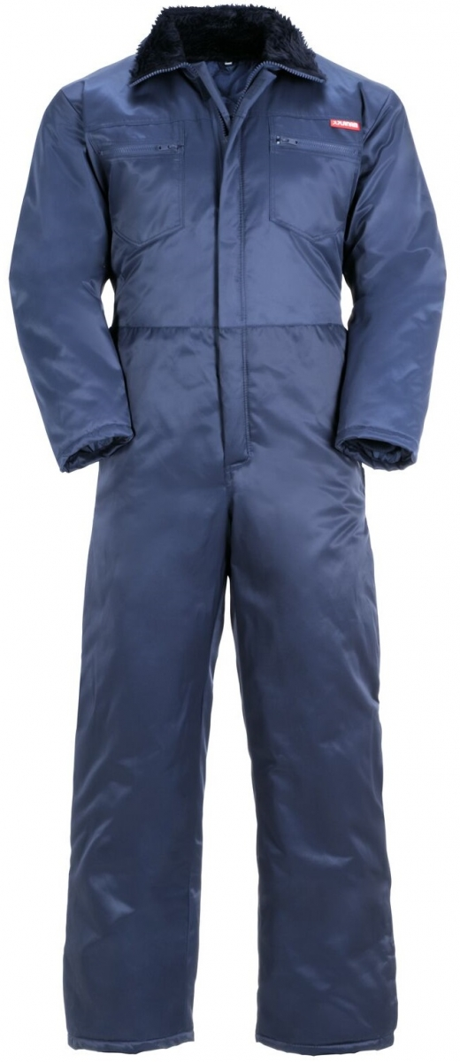 PLANAM-Kälte-Schutz, Winter-Rallye-Kombi-Arbeits-Berufs-Overall, Gletscher marine