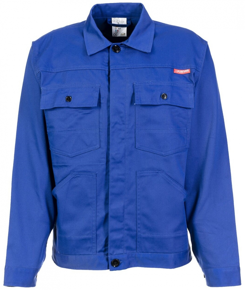 PLANAM Bundjacke, Arbeits-Berufs-Jacke, MG 290, kornblau