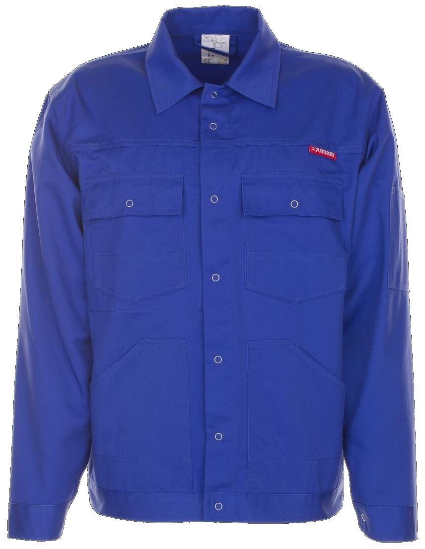 PLANAM Bundjacke, Arbeits-Berufs-Jacke, MG 260, kornblau