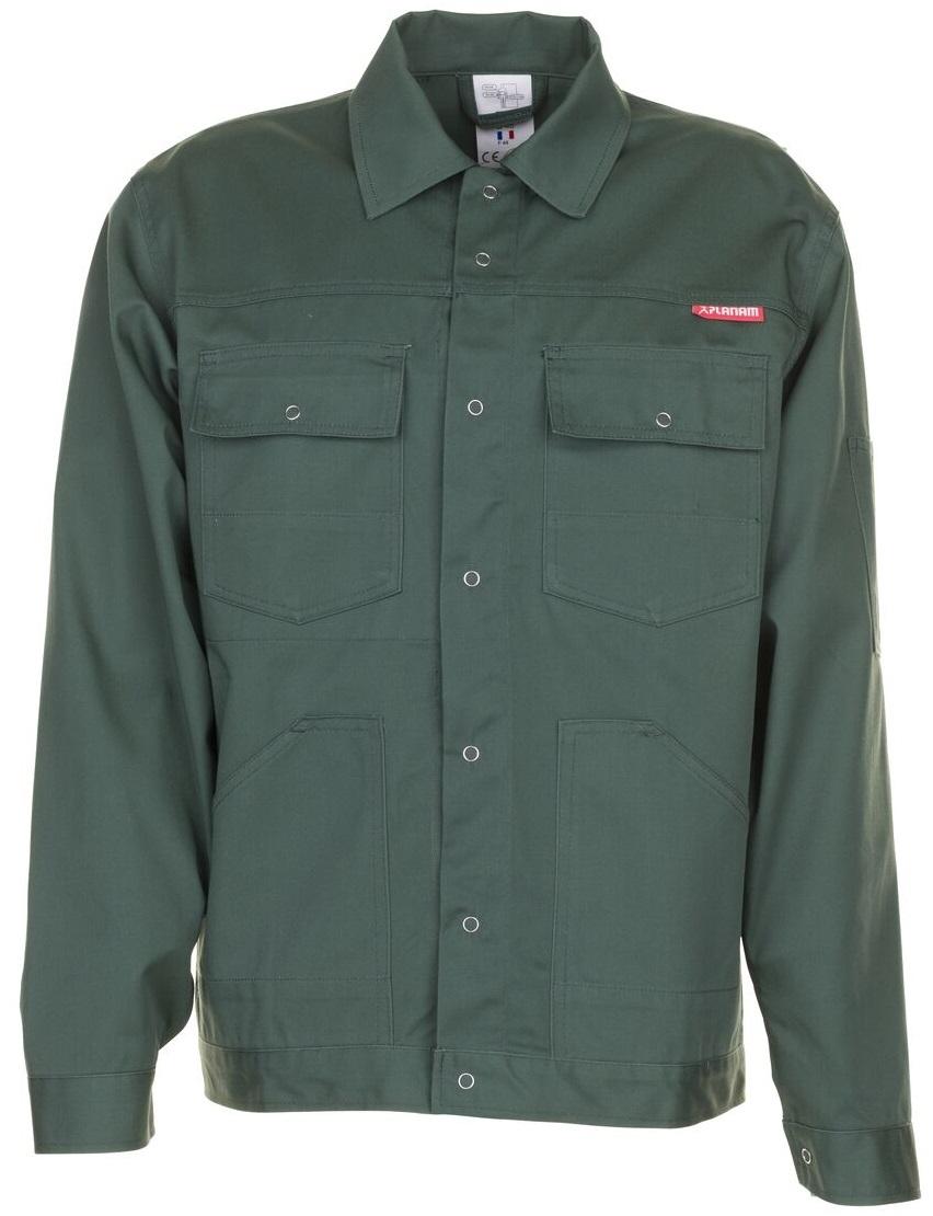PLANAM Bundjacke, Arbeits-Berufs-Jacke, MG 260, mittelgrün