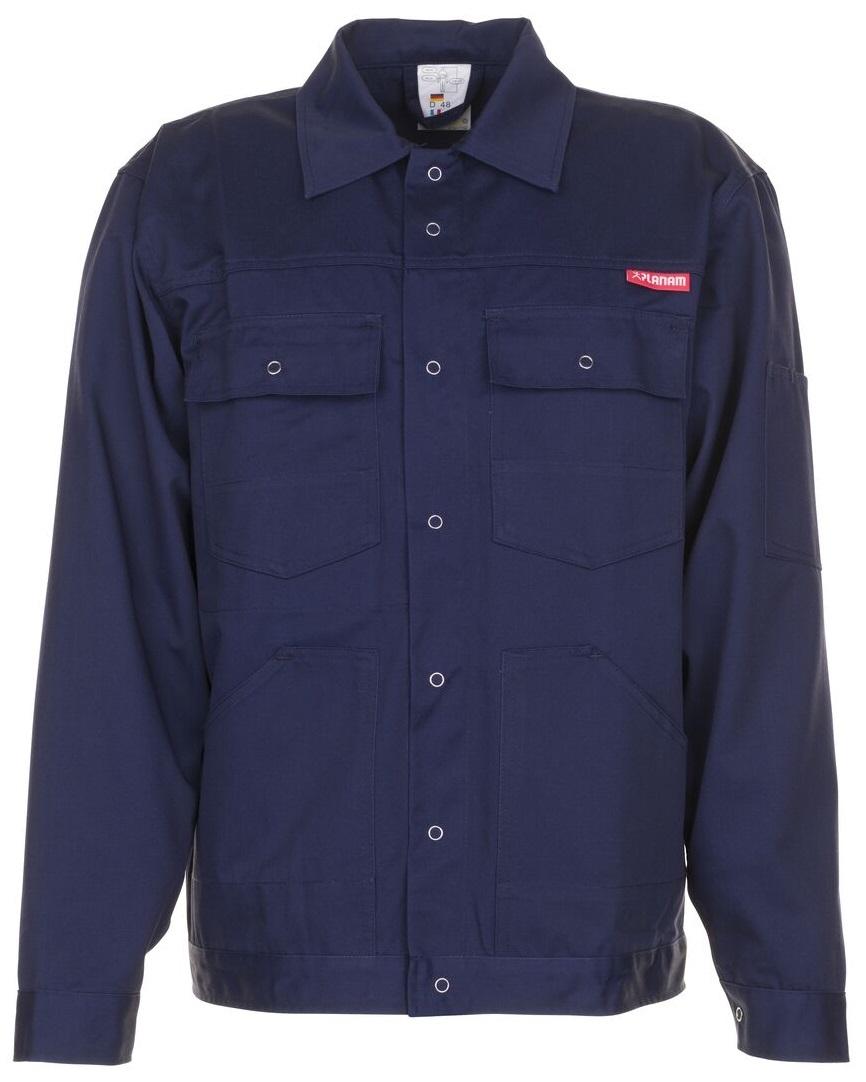 PLANAM Bundjacke, Arbeits-Berufs-Jacke, MG 260, hydronblau