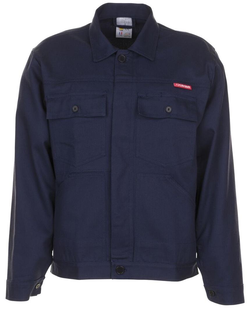 PLANAM Bund-Jacke, Arbeits-Berufs-Jacke BW 270 hydronblau