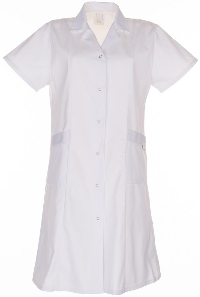 PLANAM Damen-Berufs-Mantel (1/4 Arm), Arbeits-Kittel, MG 230, weiß