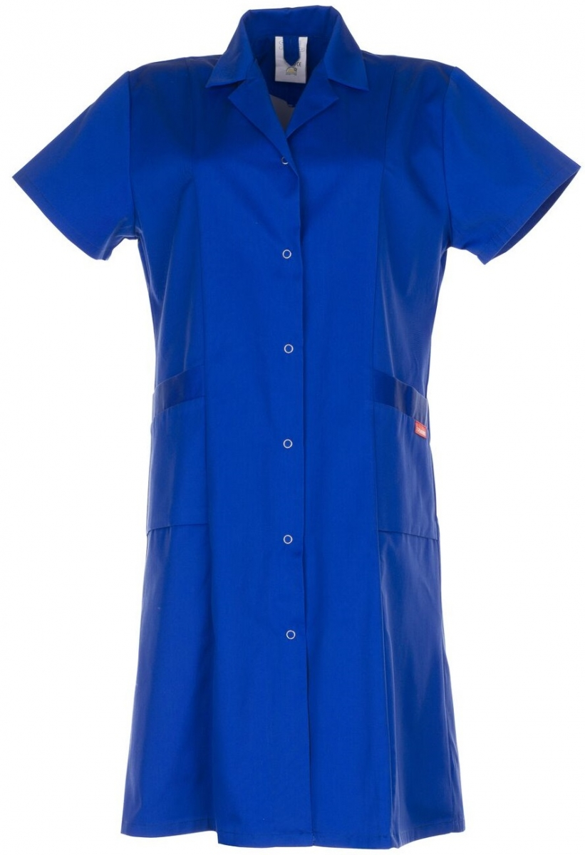 PLANAM Damen-Berufs-Mantel (1/4 Arm), Arbeits-Kittel, BW 230, kornblau