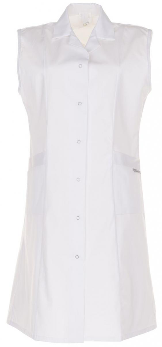 PLANAM Damen-Berufs-Mantel (ohne Arm), Arbeits-Kittel, BW 230, weiß