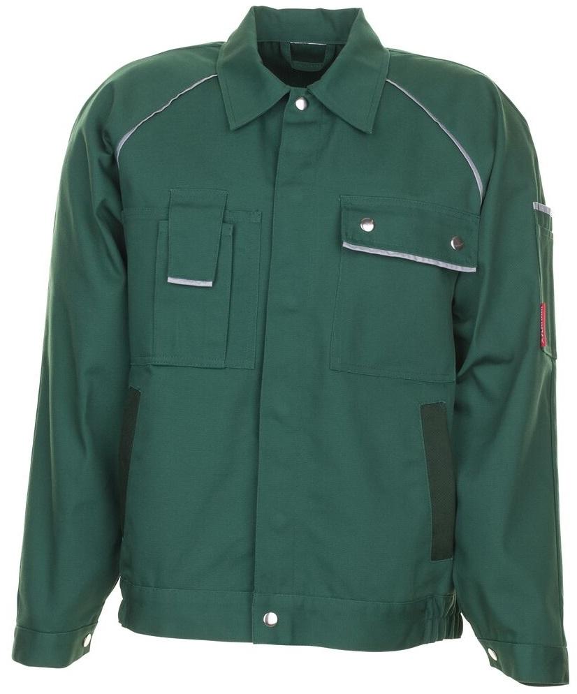 PLANAM Arbeits-Berufs-Bund-Jacke, CANVAS 320,  grün/grün