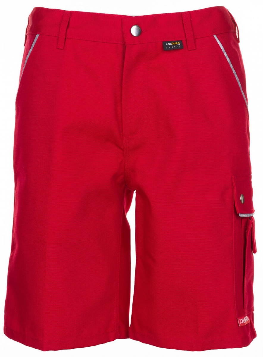 PLANAM Arbeits-Berufs-Shorts, CANVAS 320 g/m², rot/rot