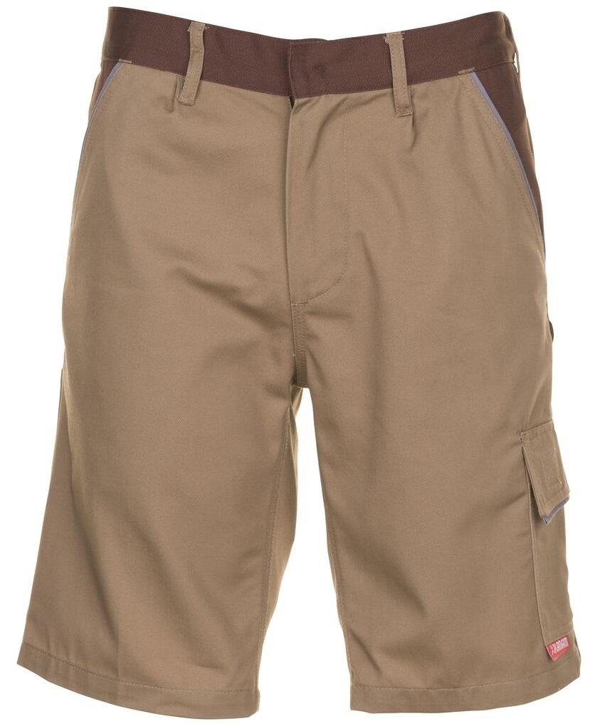PLANAM Arbeits-Berufs-Shorts, HIGHLINE, 285 g/m², beige/braun/zink
