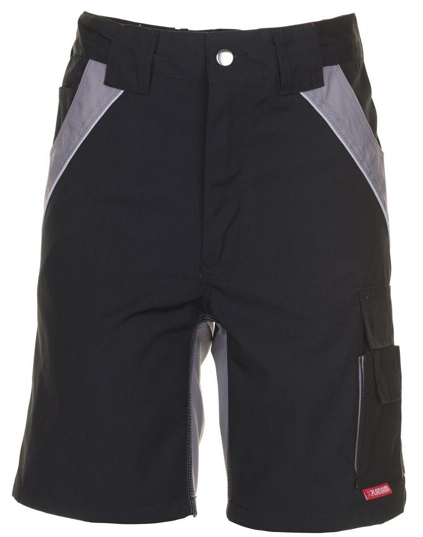 PLANAM Arbeits-Berufs-Shorts, PLALINE, 280 g/m², schwarz/zink