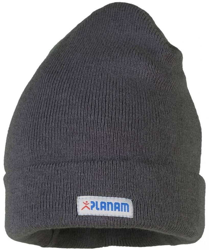 PLANAM Thinsulate-Winter-Mütze, mit Umschlag, schiefer
