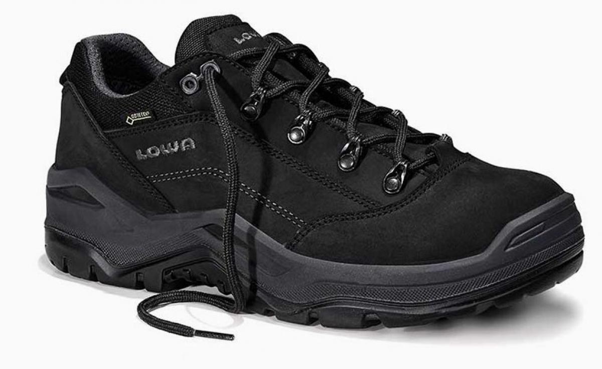 ELTEN LOWA S3 Sicherheitsschuhe, RENEGADE WORK GTX black Low, schwarz