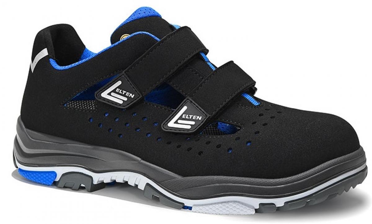 ELTEN-S1-ERGO-ACTIVE-Sicherheitssandale, IMPULSE EA Easy, ESD, Fußtyp 3, blau
