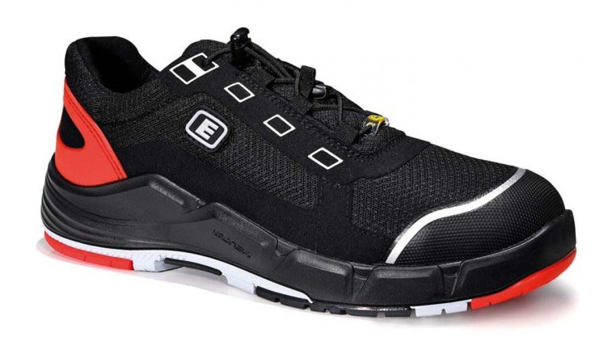 online store ece7a 726cd ELTEN-S1-Sicherheits-Arbeits-Berufs-Schuhe, Halbschuhe, MIGUEL black Low,  ESD, schwarz