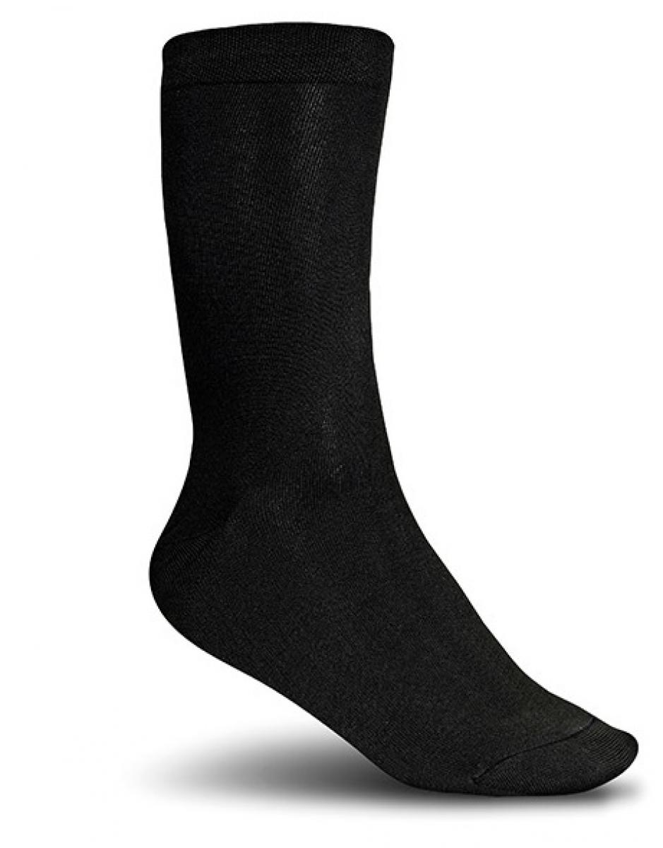 ELTEN-BUSINESS-SOCKS, Arbeits-Berufs-Socken, 98% Nylon/2% Elasthan, schwarz