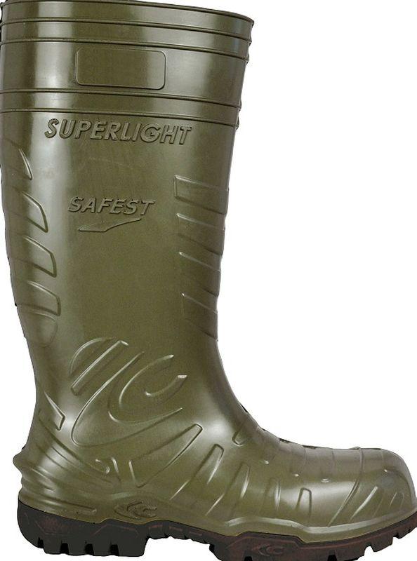 COFRA SAFEST GREEN S5 CI SRC, Sicherheits Arbeits Berufs Gummi Stiefel, grün