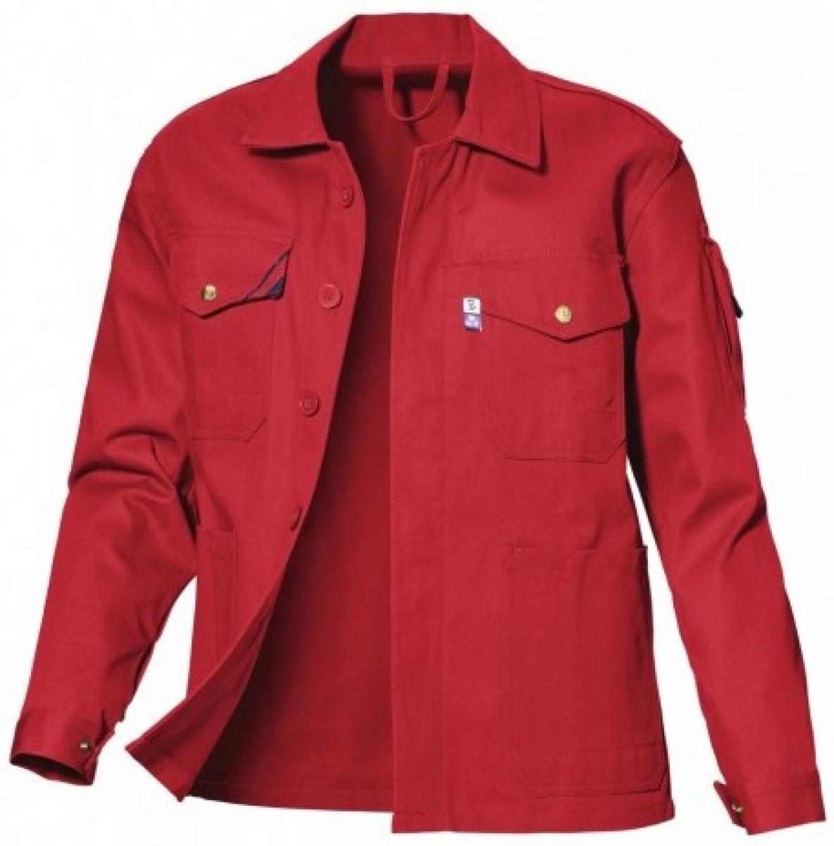 PKA-Arbeits-Berufs-Bund-Jacke, Star, BW310, rot