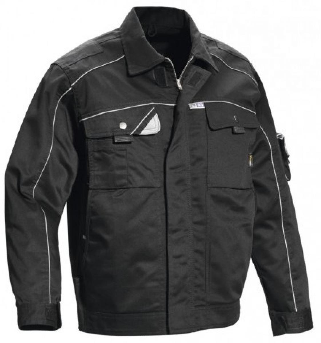 PKA-Arbeits-Berufs-Bund-Jacke, Blouson, Black Revolution, MG320, schwarz