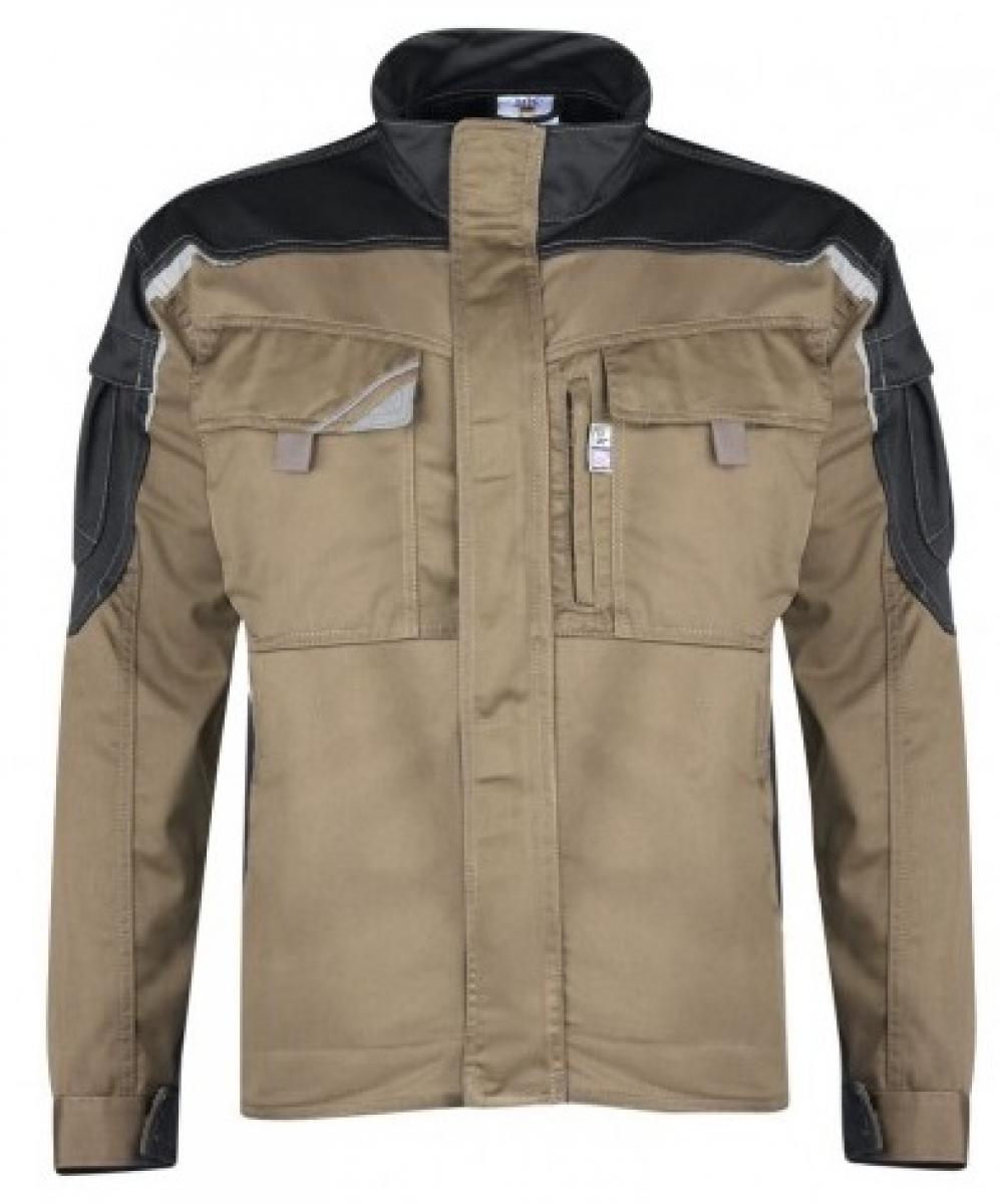 PKA-Arbeits-Berufs-Bund-Jacke, Blouson, Bestwork, MG250, khaki/schwarz