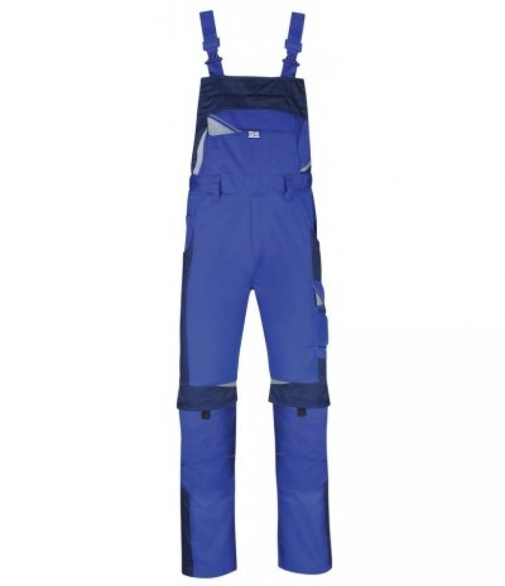 PKA Arbeits-Berufs-Latz-Hose Bestwork, MG250, kornblau/hydronblau