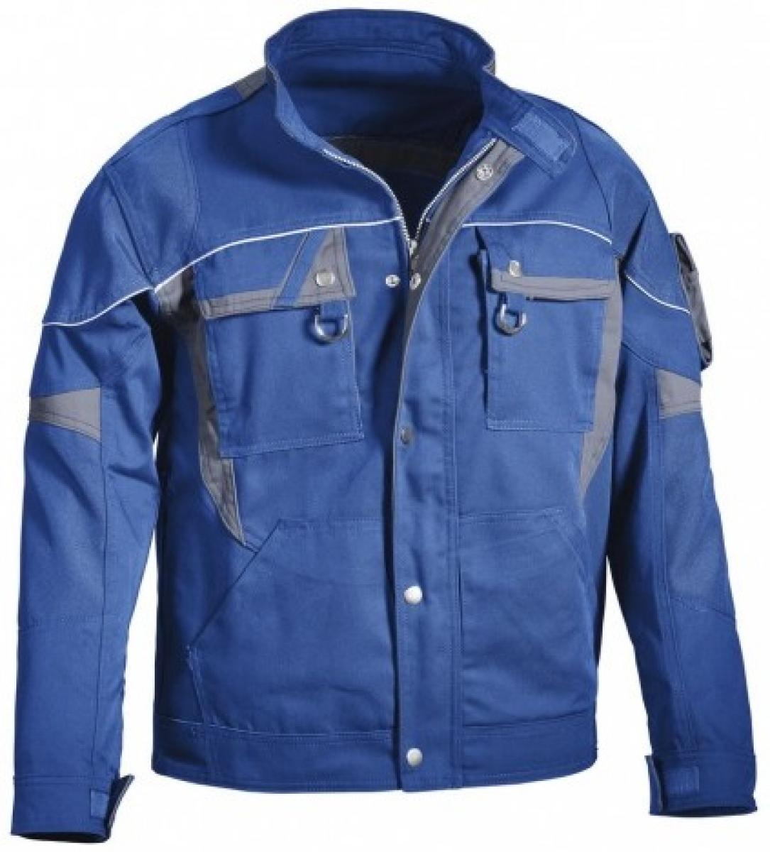 PKA-Arbeits-Berufs-Bund-Jacke, Blouson, Threeline De Luxe, MG330, kornblau/grau
