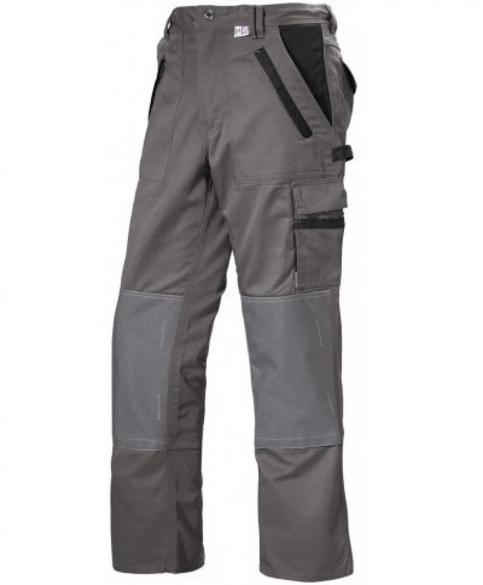 PKA-Arbeits-Berufs-Bund-Hose, Threeline Image, MG330, grau/schwarz