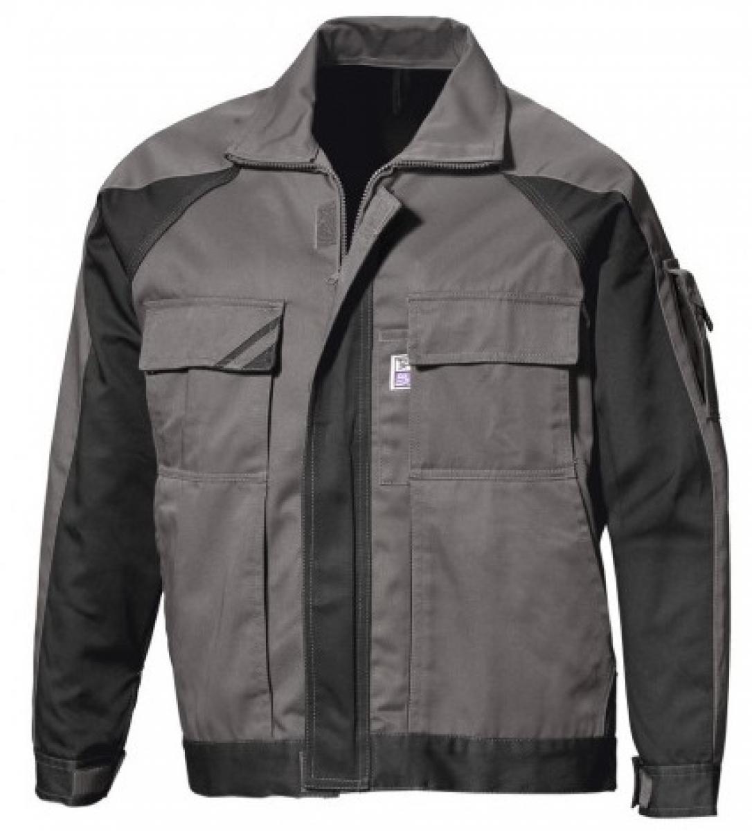 PKA-Arbeits-Berufs-Bund-Jacke, Blouson, Threeline Image, MG330, grau/schwarz