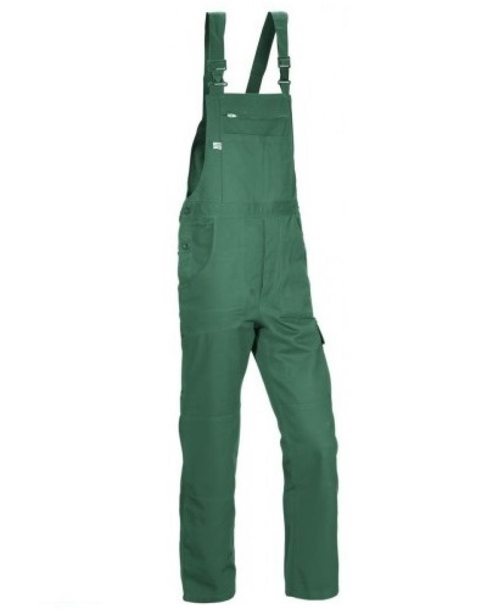 PKA Arbeits-Berufs-Latz-Hose Basic Plus, BW270, grün