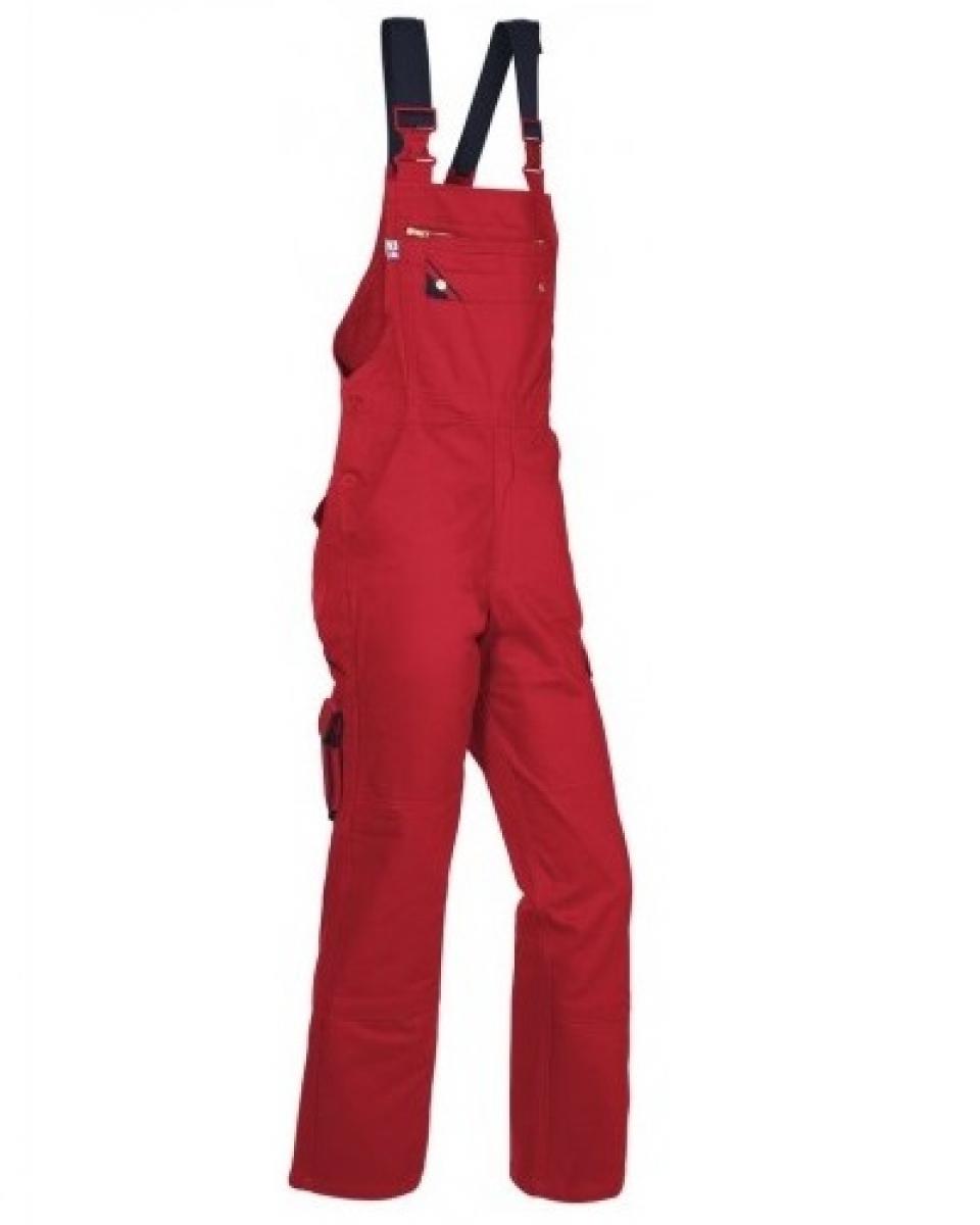 PKA Arbeits-Berufs-Latz-Hose Star, BW310, rot