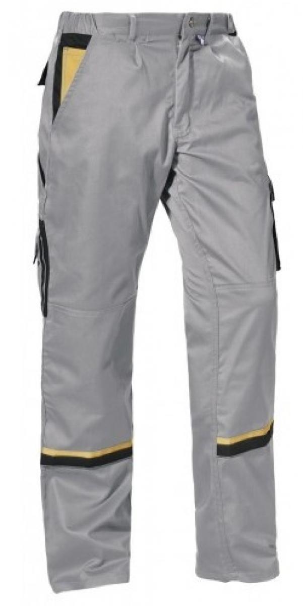 PKA-Arbeits-Berufs-Bund-Hose, Magic, MG270, grau/schwarz/gelb
