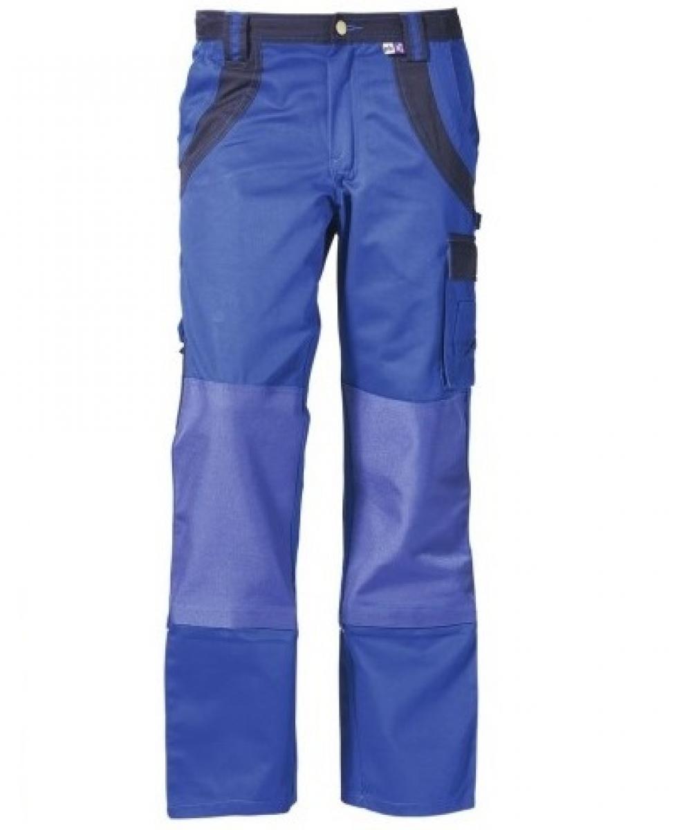 PKA-Arbeits-Berufs-Bund-Hose, Threeline Plus, MG280, kornblau/hydronblau