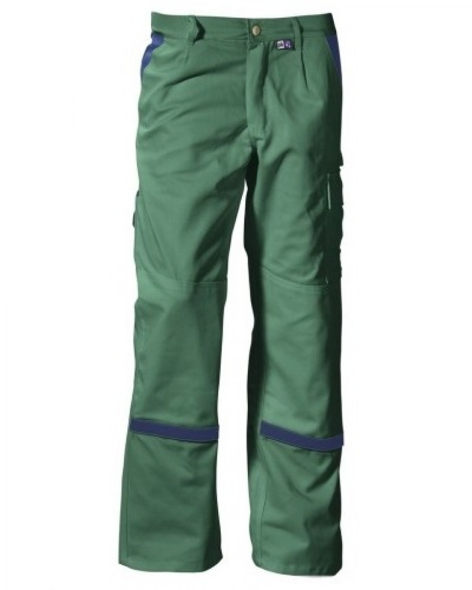 PKA-Arbeits-Berufs-Bund-Hose, Threeline Perfekt, MG320, grün