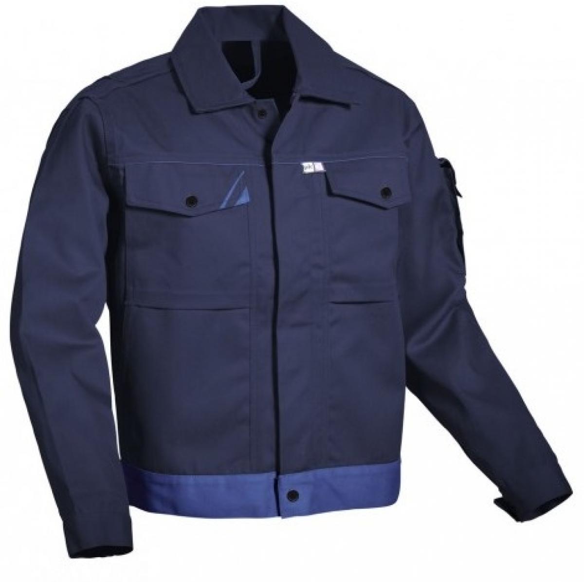 PKA-Arbeits-Berufs-Bund-Jacke, Blouson, Threeline Perfekt, MG320, hydronblau/kornblau