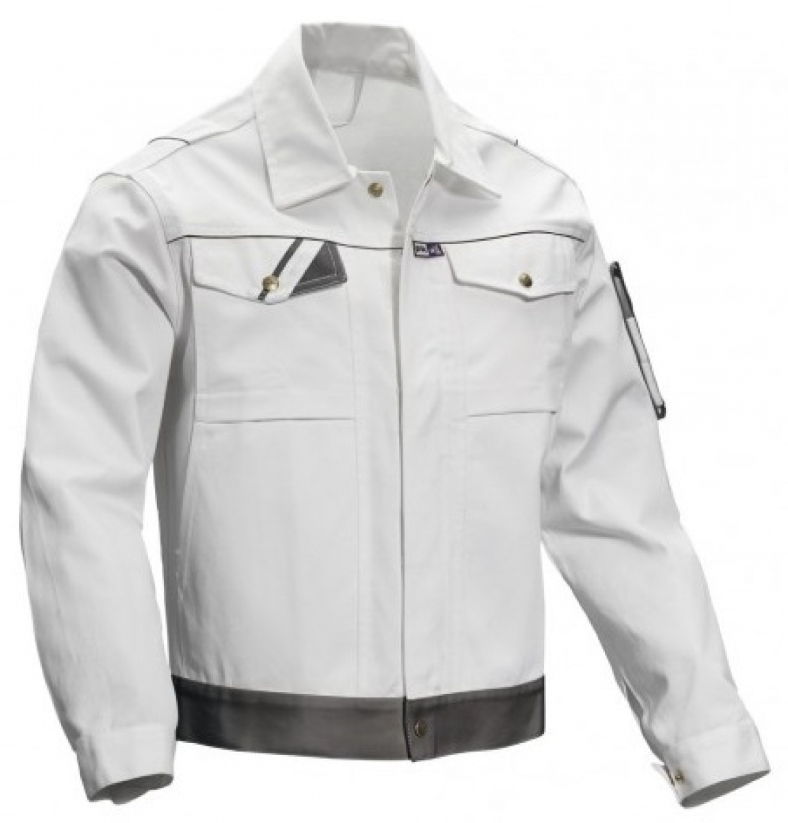 PKA-Arbeits-Berufs-Bund-Jacke, Blouson, Threeline Perfekt, MG320, weiß